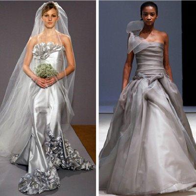 Bridal 2010 silver grey trend